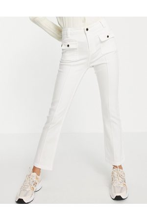 Morgan Slim bootcut jeans with pocket detail in