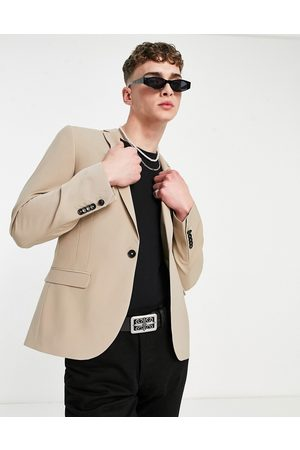 Twisted Tailor Men Blazers - Suit jacket with wool mix in stone