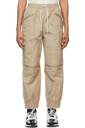 Women Loungewear - Stella McCartney Beige adidas by Stella McCartney Taffeta Lounge Pants