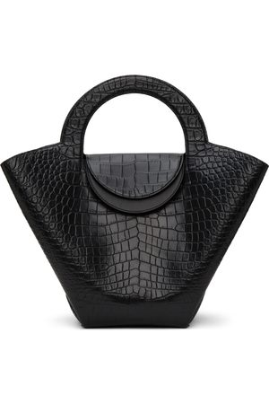 Bottega Veneta Croc Top Handle Tote