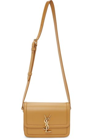Women Bags - Saint Laurent Tan Small Solferino Bag