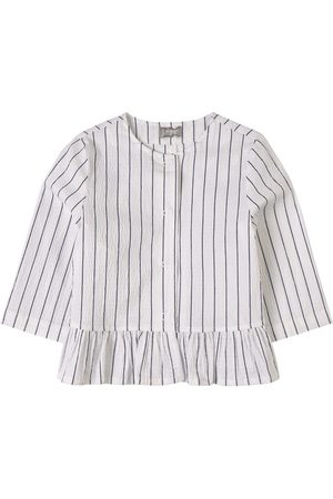Il gufo Sale - Striped Jacket White - Unisex - 4 Years - - Spring and fall jackets