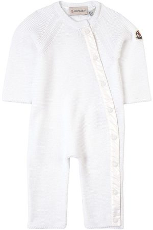 Moncler Kids - Branded Knit One-Piece - Unisex - 1-3 months - - Babygrows