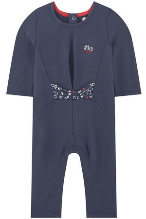 IKKS Jumpsuits - Kids Sale - Navy Logo One-Piece - Girl - 6 mån - - Playsuit and jumpsuits