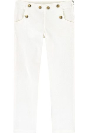 Tartine Et Chocolat White Slim Fit Jeans - Girl - 3 Years - - Trousers