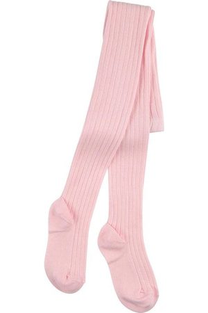 CONDOR Light ribbed knit Baby tights - Unisex - 6-12 months - - Tights