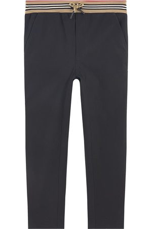 Burberry Kids - Slim Fit Chinos - Boy - 10 Years - - Trousers