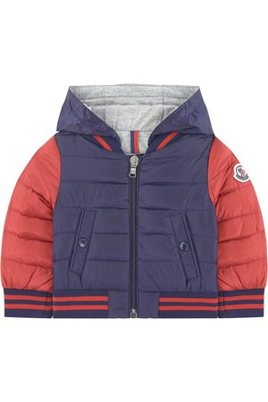 Moncler Kids - Red Puffer Jacket - Boy - 6-9 Months - - Padded and puffer jackets