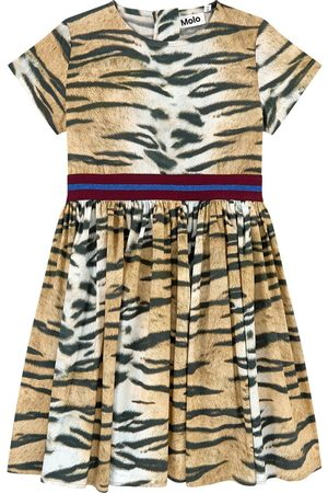 Molo Sale - Wild Tiger Woven Candy Dress - Girl - 92/98 cm - - Party dresses