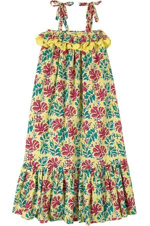 Lison Paris Sale - Floral Dress Yellow - Girl - 6 Years - - Casual dresses