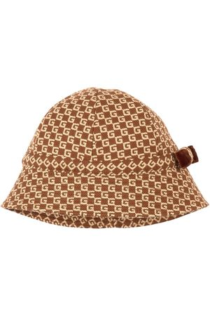 Gucci Kids - Akela Hat Brown - Unisex - 4-6 Years - - Trilbys and fedoras