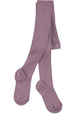 CONDOR Amethyst ribbed knit Baby tights - Unisex - 0-3 months - - Tights
