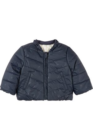IKKS Kids - Reversible Puffer Jacket Navy - Girl - 6 months - Navy - Quilted and liddesdale jackets