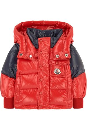 Moncler Kids - Down and feather padding coat - Boy - 9-12 months - - Padded and puffer jackets