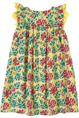 Lison Paris Casual Dresses - Sale - Floral Dress Yellow - Girl - 4 Years - - Casual dresses