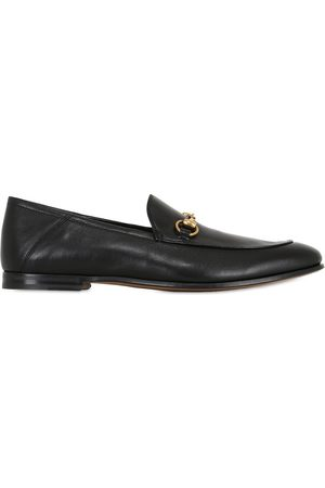 Gucci Men Brogues & Loafers - Brixton Horsebit Soft Leather Loaferss