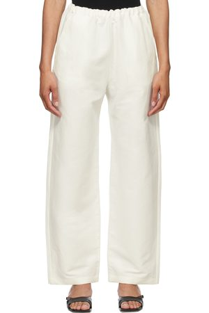 Totême Stretch Linen Lounge Pants