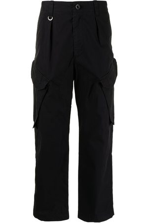 SOPHNET. Cropped cargo trousers