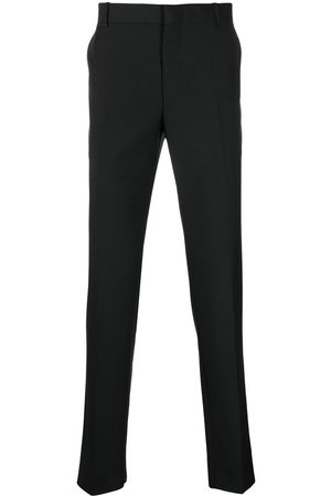 Alexander McQueen Men Formal Pants - Slim-leg tailored trousers