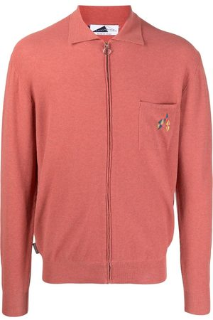 Anglozine Men Jumpers - Zip-up knitted jumper