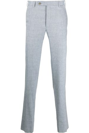 CANALI Mid-rise chino trousers