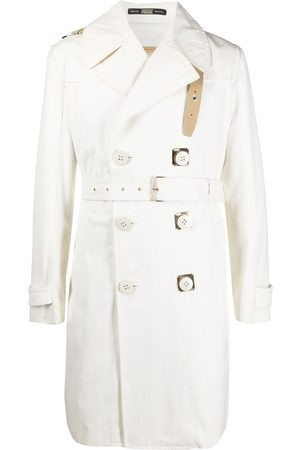 Gianfranco Ferré Men Trench Coats - 1990s double-breasted trench coat
