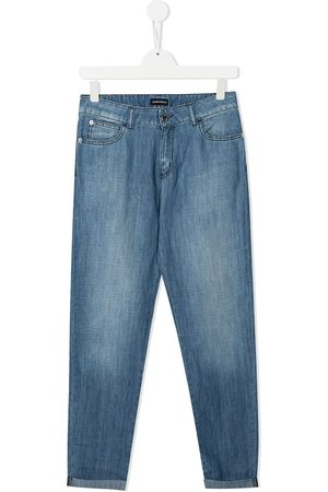 Emporio Armani Kids Girls Jeans - Faded-effect jeans