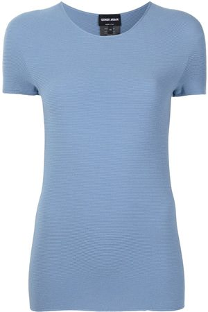 Armani Round neck knitted top