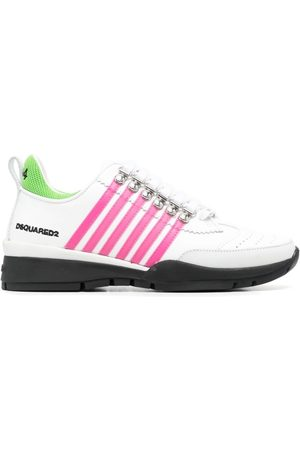 Dsquared2 Wedge heel striped sneakers