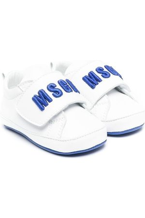 Msgm Kids Sneakers - Logo touch-strap sneakers
