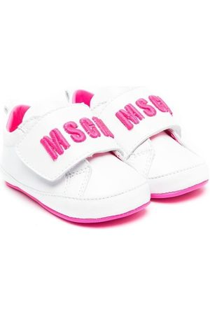 Msgm Kids Sneakers - Touch-strap logo sneakers