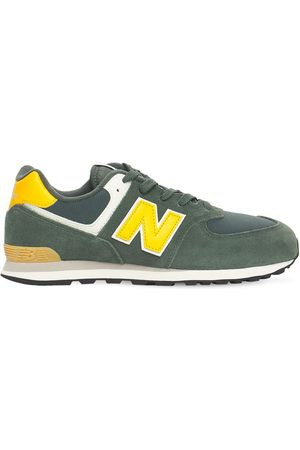 New Balance 574 Suede & Mesh Lace-up Sneakers