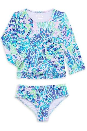 Lilly Pulitzer Little Girl's & Girl's Margo 2-Piece UPF 50+ Rashguard Set