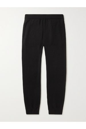The Row Men Pants - Olivier Tapered Cashmere Sweatpants