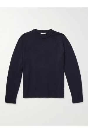 The Row Men Sibem Wool and Cashmere-Blend Sweater