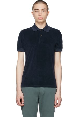 TOM FORD Navy Toweling Polo