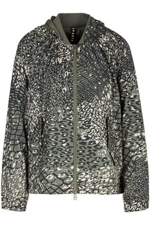 Marc Cain Sports Leopard Printed Jacket QS 12.05 W19 592