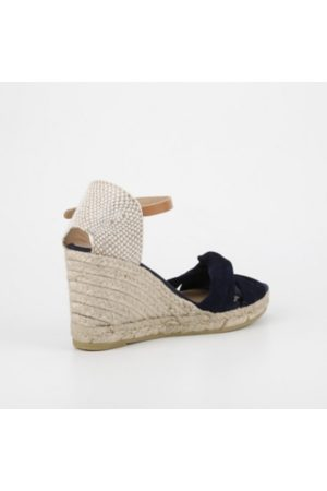 Kanna Black Siena Wedge
