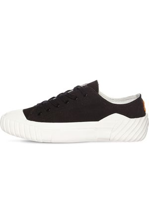 Kenzo Tiger Crest Low Top Canvas Sneakers