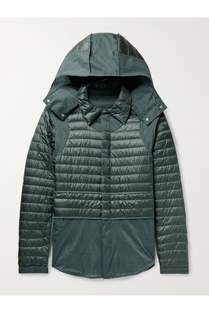 Moncler Genius Men Jackets - 5 Moncler Craig Chrysemys Panelled Quilted Nylon Hooded Down Jacket
