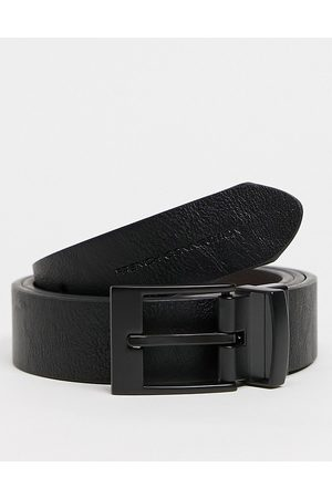 French Connection CFC reversible belt in and brown