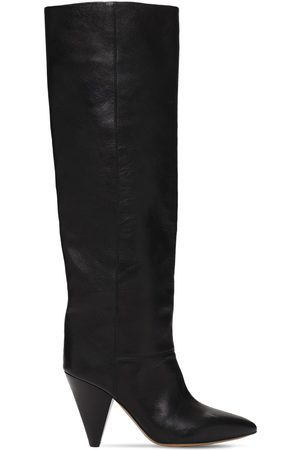 Isabel Marant 90mm Lybill Leather Tall Boots