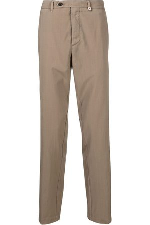 MYTHS Men Formal Pants - Straight-leg tailored trousers