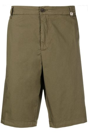 Myths Men Chinos - Mid-rise flared chino shorts