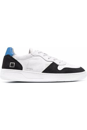 D.A.T.E. Vintage low-top leather sneakers