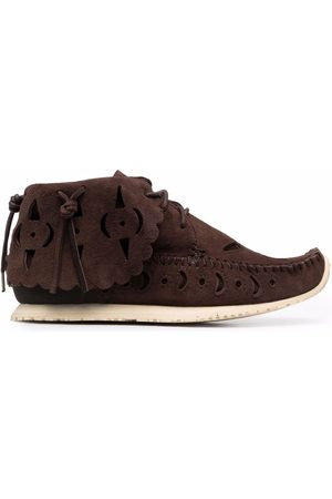 VISVIM Cut-out moccasin ankle boots