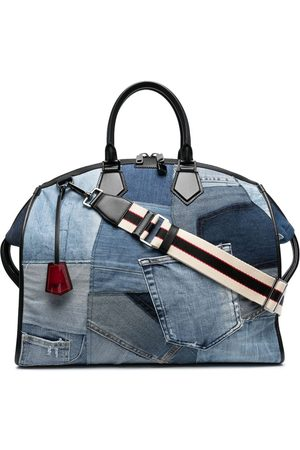 Dolce & Gabbana Men Suitcases & Luggage - Denim patchwork holdall