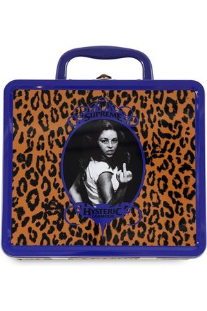 Supreme Women Tote Bags - X Hysteric Glamour lunchbox set