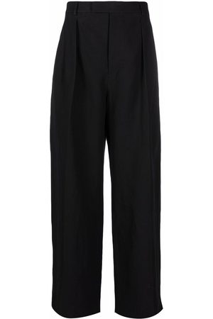 Valentino Men Formal Pants - Wide-leg tailored trousers