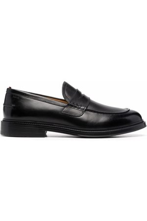 Bally Nitus slip-on leather loafers